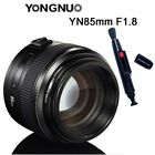 Yongnuo YN 35mm 50mm 85mm 100mm EF AF / MF Prime Fixed Lens for Canon EOS