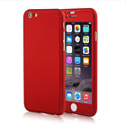 Fashion 360 Full Body + Screen Film Phone Case for Apple iPhone 5s 6 6S 7 8 Plus