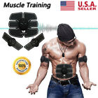 US Ultimate Abs Stimulator Abdominal Muscle Training Toning Belt Waist Trimmer