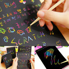 Creative Notebook Scratch Paper Note Drawing Educational Toys Kids Stationery