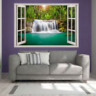 Forest Waterfall Scene Printed Art Wall Sticker Giant Transfer Big Pictures pr16