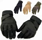 MILITARY POLICE SWAT TACTICAL COMBAT ASSAULT SHOOTING FULL FINGER GLOVES