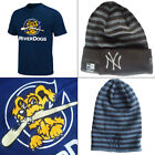 Charleston River Dogs YOUTH MiLB 2 Button T-shirt + New York Yankees Knit Hat