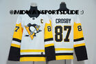 Pittsburgh Penguins 87 Sidney Crosby White Jersey