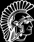 Spartan 1 Color Window Wall Vinyl Decal Sticker Printed Mascot Graphic