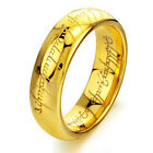 Lord of the Rings Stainless Steel Rings The One Ring Lotr Men's Ring Size 6-12