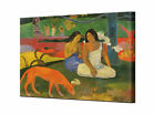 Paul Gauguin The Red Dog Canvas Art Print Arearea Canvas Wall Art Ready To Hang
