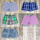 POLO RALPH LAUREN SHORTS Womens Madras Plaid Gingham Seersucker Bandana ALL SIZE