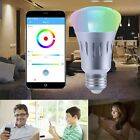 B22/E27 Wireless WiFi APP Remote Control Smart Bulb LED RGB Light For Echo Alexa