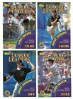 2000 Topps LIMITED League Leaders Subset Single Cards #461-467 LL Set Tiffany