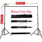 3 Size Heavy Duty Adjustable Photography Background Support Stand Kit With Case