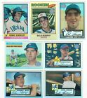 2001 Topps Archives Reserve Single Cards 6 Available HOF 01 Like Refractors Ref