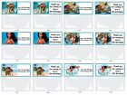 MOANA Personalised Birthday Party/Loot Favour Bags & Toppers x 15
