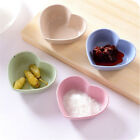 heart shape fruit snack sauce bowl food container tableware dinner plates FO