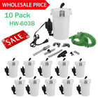 LOT Aquarium Fish Tank External Filter 6W HW-603B Canister Water Pump 400L/h AS