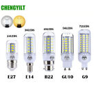E27 E14 LED Corn Bulb AC110V/220V 2W-10W 5730 SMD Warm White/White Light Lamp
