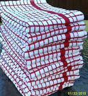 Pack of 2 Terry tea towel towels kitchen dish drying thick absorbant 100% cotton
