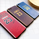 Coque Basketball Jordan Curry Bryant Harden James Case Apple Iphone 5 6 7 8 + X