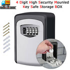 Внешний вид - Key Storage Box Outdoor High Security Wall Mounted Safe Code Secure Lock 4-Digit