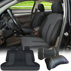 Full Car Seat Covers Semi-Custom Compatible to Dodge 1618 Black $38.95 USD on eBay