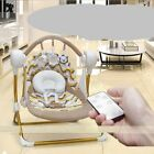 Electric Baby Cradle Swing Music Rocking Chair Sleep Basket Infants Bouncer Seat