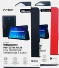 Incipio Clarion Folio Case With Clasp Closure for Samsung Galaxy Tab E 9.6
