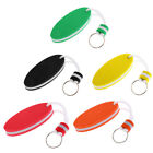 Oval Shaped Boat Floating Key Buoy Ring Chain Key Ring Floats