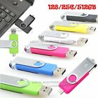 pny usb 2.0 fd usb device - 64 128 256G Dual USB OTG Device iFlash Drive USB 2.0 For Android PC High Quality