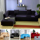 L-Shape Sofa Stretch Sofa Slipcover Couch Pillow Cover 5 ...
