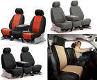 Coverking Synthetic Leather Custom Seat Covers Chevrolet Volt