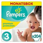 Pampers Premium Protection New Baby Windeln, Gr 1-4, Monatsbox