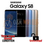 New Samsung Galaxy S8 SM-G950U / S8 Plus SM-G955U 64GB Unlocked AT&T T-Mobile  photo