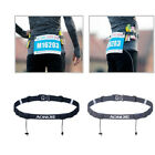 Sport Triathlon Marathon Running Race Number Waist Bib Belt & 6 Gel Loop Fitness image