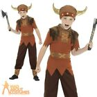 Child Viking Warrior Costume Book Week Day Medieval Fancy Dress Outfit Kids