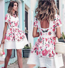 sell dresses - US SELL Womens Floral Sundress Dresses Casual Evening Party Clubwear Short Dress