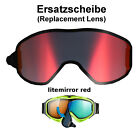 Uvex g.gl 300 uvision take off TO/TOP Ersatzscheibe red Skibrille Goggle Brille