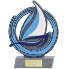 SAILING TROPHY 2 SIZES AVAILABLE ENGRAVED FREE BOATING WATER SEA RESIN TROPHIES