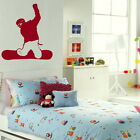 SNOWBOARDER SNOW BOARD LARGE WALL STICKER DECAL giant tattoo picture print SP11