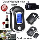 Digital Alcohol Portable Breathalyser Breath Tester Blue LCD Breathtester UW