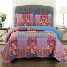 Retro Kenzy Reversible Over Sized Quilt Set
