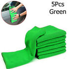 5/10x Soft Auto Car Microfiber Wash Cloth Cleaning Towels Hair Drying Duster HI