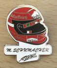 MICHAEL SCHUMACHER ENAMEL BADGE MOTOR RACING LEGENDS 2nd TO COLLECT LTD EDITION