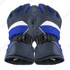 Mens Womens Adjustable One Size Winter Warm Thermal Ski Driving Snowboard Gloves