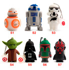 BRAND NEW STAR WARS USB FLASH STICK DRIVE 128MB/4GB/8GB/16GB/32GB/64GB YODA £9.99 GBP
