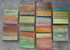 Mike Elsass Acrylic on Steel Modern Industiral Art 7x7 Squares