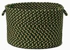 Brook Farm Indoor Outdoor Utility Storage Basket, BF62 Winter Green~Made in USA
