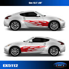 5112 Flame Body Vinyl Graphics Decals CAR TRUCK Sticker High Quality EgraF-X
