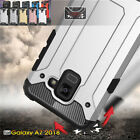 For Samsung Galaxy A5 7 8 Plus 2017 Hybrid Kickstand Protective Phone Case Cover