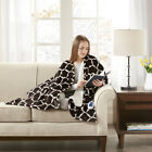 Beautyrest Ogee Heated Snuggle Wrap image
