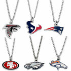 logo necklace charm pendant NFL PICK YOUR TEAM $7.99 USD on eBay